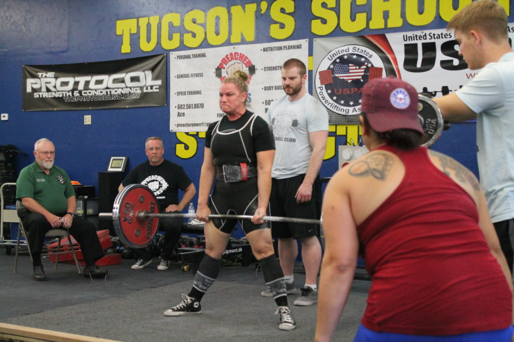 Deadlifting Powerlifting Tucson